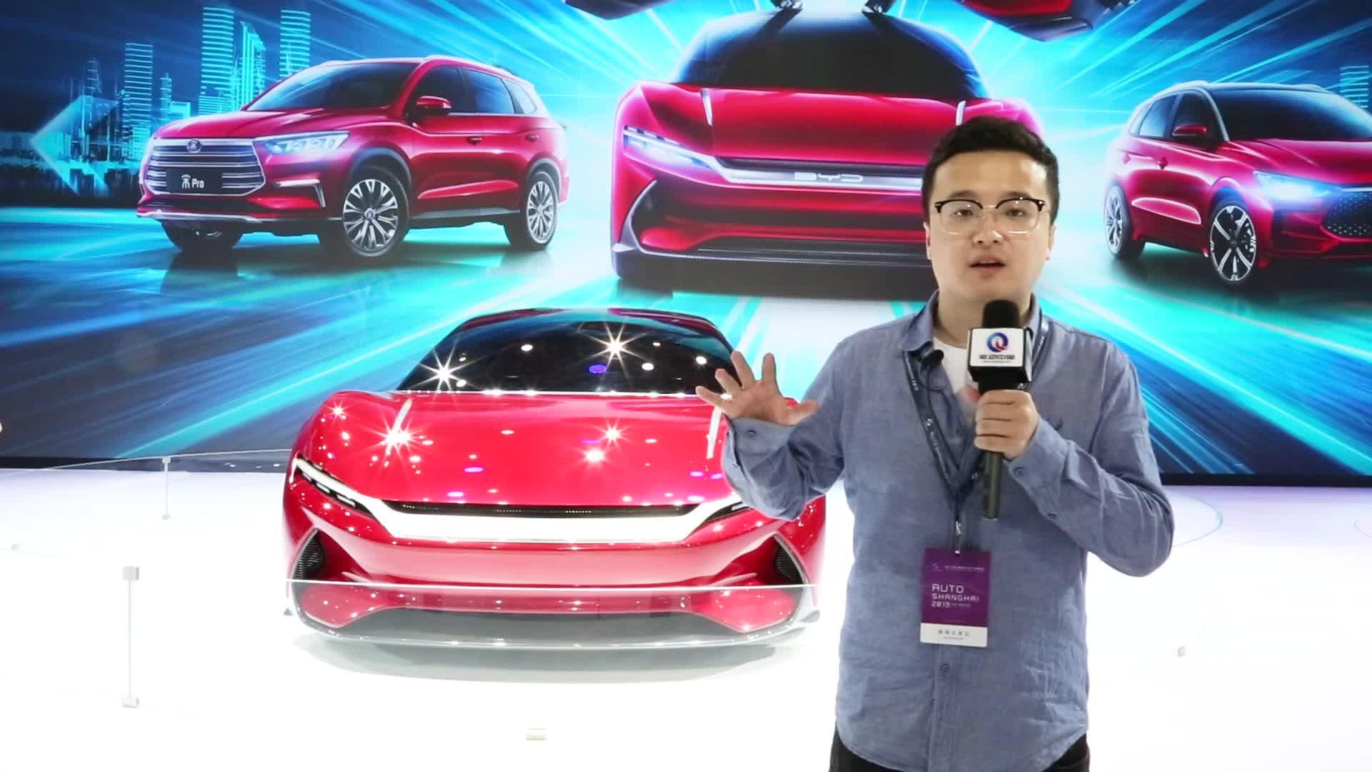 百公里加速仅2.9 比亚迪E-SEED上海车展惊艳亮相