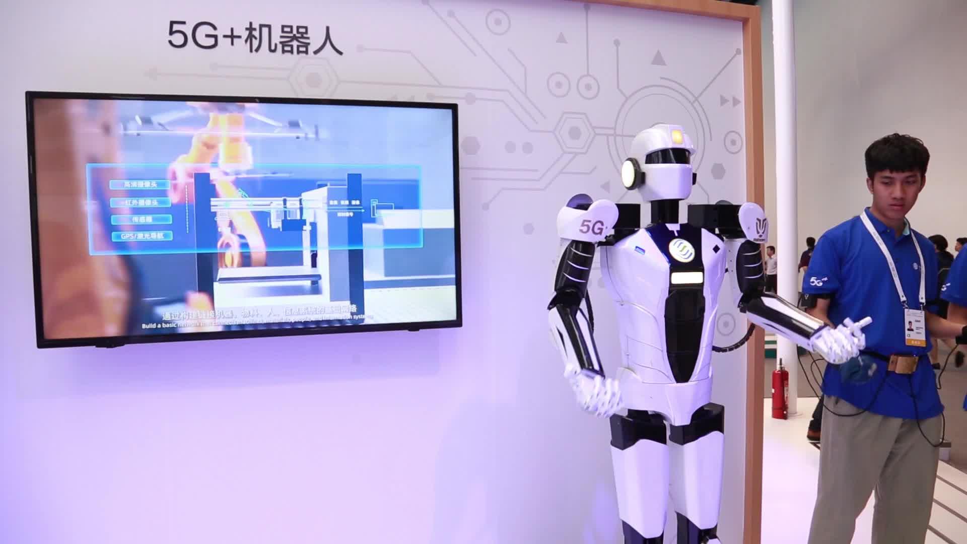 Focus最前沿 | 5G+AI行业应用全展示 玩转中国移动展台