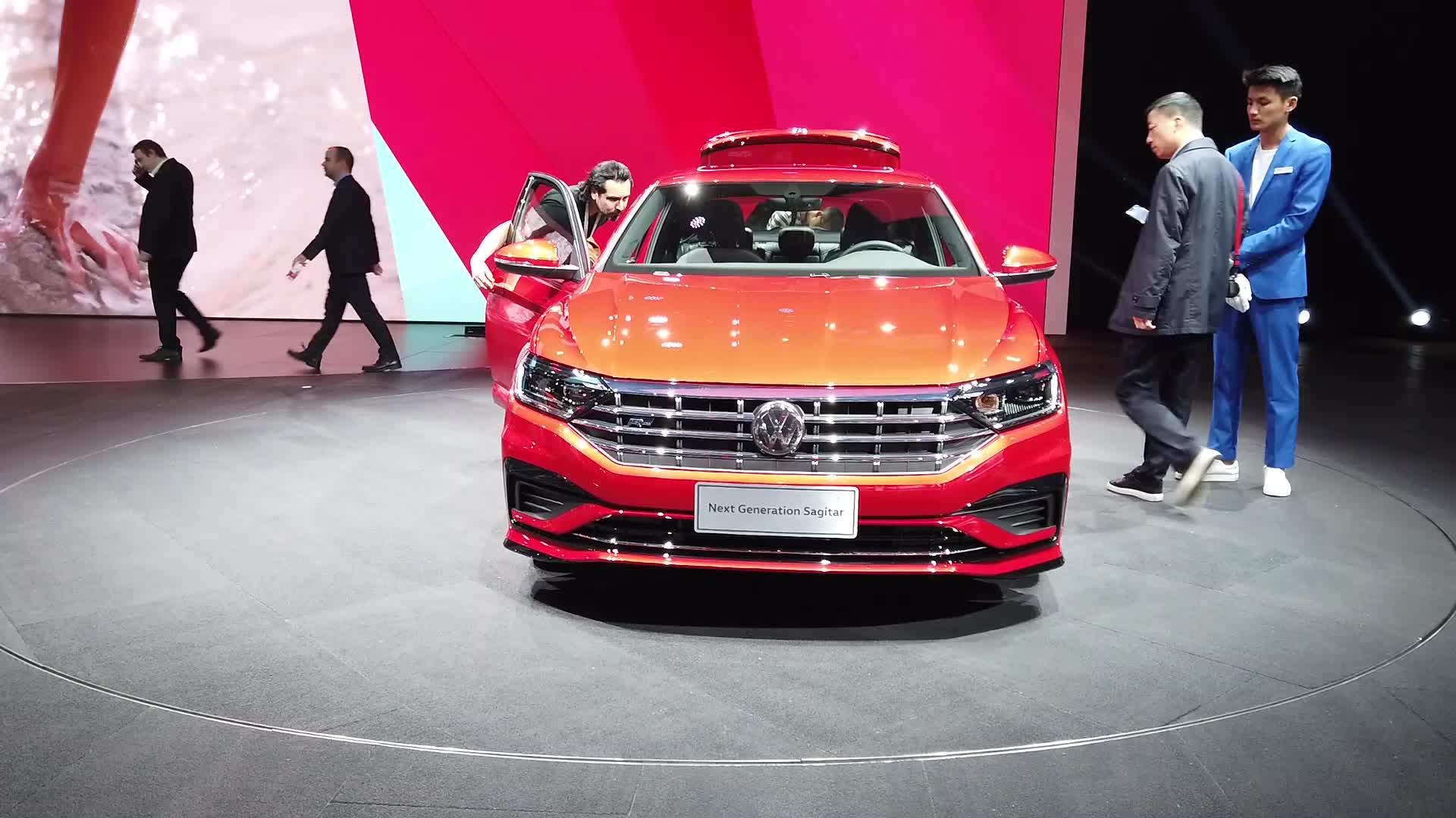 2019上海车展:一汽大众全新一代速腾