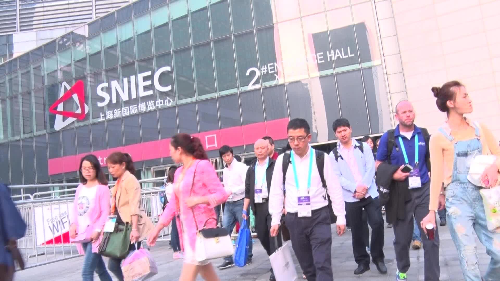CES Asia 2016亚洲消费电子展 英特尔展台