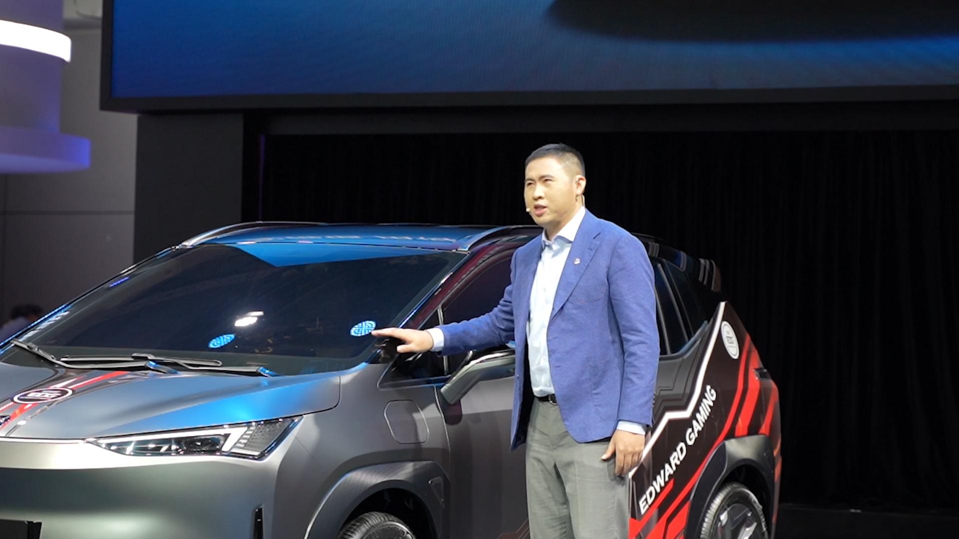 Z世代座驾合创汽车全新车型亮相上海车展